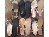 Women's shoes x6 pairs