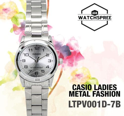 Casio Women's Analog Quartz Water Resistant Stainless Steel