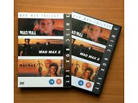 Original Mad Max trilogy on DVD