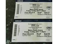 2 WWE tickets Friday May 12th