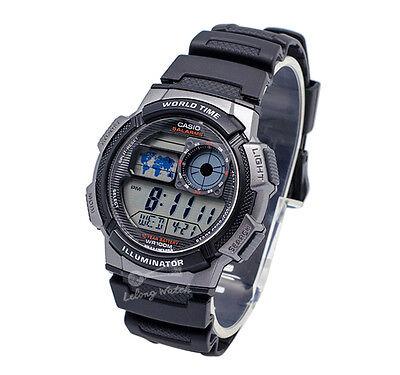 -Casio AE1000W-1B Digital Watch Brand New & 100% Authentic