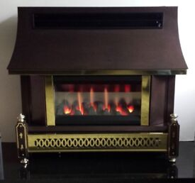 Robinson Willey Sahara LF Electronic 4.4 KW Gas Fire (Bronze)