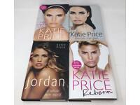4 x Katie Price Hardback Books