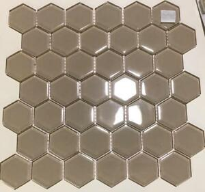 Glass mosaic backsplash tile!   WAREHOUSE BLOWOUT PRICE  $2.99 sf !!!!   One time opportunity !!!  Large stock Windsor Region Ontario Preview