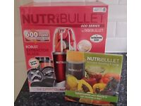 Nutribullet 600 Series - New - Limited Edition Cherry Red