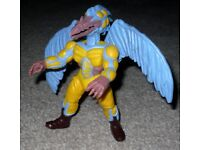 Bandai 1994 Mighty Morphin Power Rangers Evil Space Aliens Peck Attack Peckster