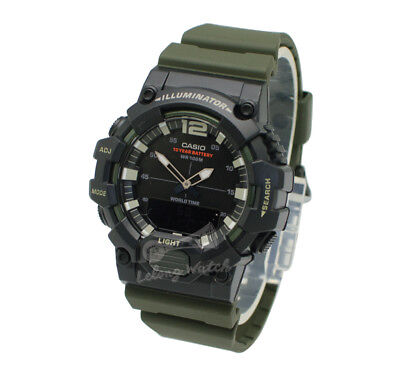 -Casio HDC700-3A Analog Digital Watch Brand New & 100% Authentic