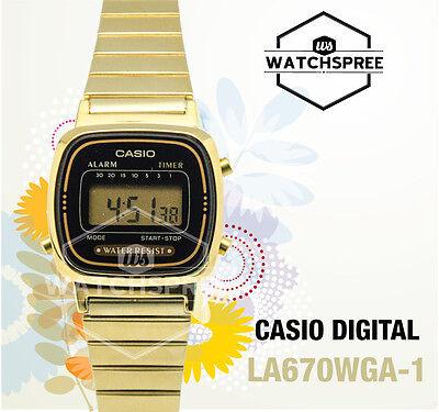 Casio Digital Watch LA670WGA-1D