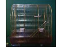 Lovely small brass bird cage