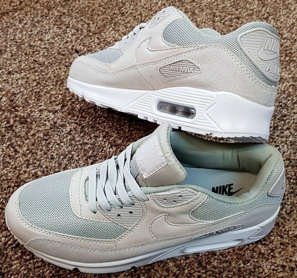 sports shoes dd22b 526e4 NIKE AIR MAX 90 SE ESSENTIAL PREMIUM - CREAM SUEDE - UK SIZE 9 - BRAND NEW  AND BOXED | in Huddersfield, West Yorkshire | Gumtree
