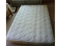 Mattress double – like new only used very occasionally in spare bedroom