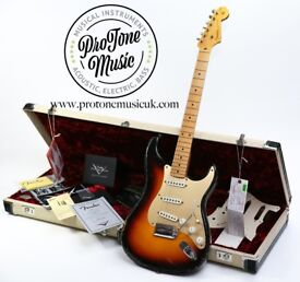 Fender Custom Shop 58' Relic Stratocaster Sunburst ✯ Josefina Campos Pickups