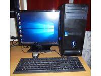 Desktop Computer full setup