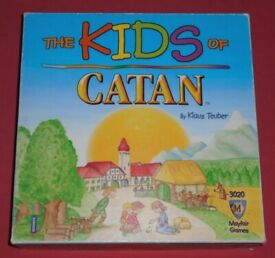 'The Kids Of Catan' Board Game