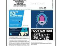 2 x Foo Fighters Tickets + London Accomodation