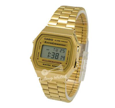 -Casio A168WG-9W Digital Watch Brand New & 100% Authentic