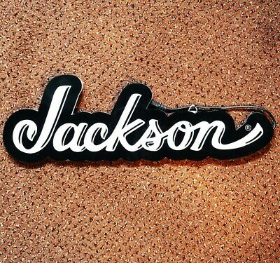 Jackson Logo LED Limited Edition Sign Lights Up Power Supply