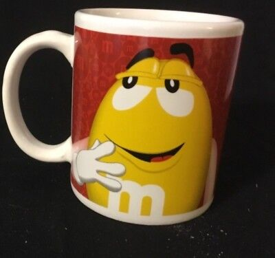 Red Yellow Candy Peanut Plain Character Coffee Cup M&M's Licensed Product](Peanuts Characters Merchandise)