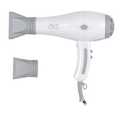RX7 Ionic Tourmaline Hair Dryer - Pearl White