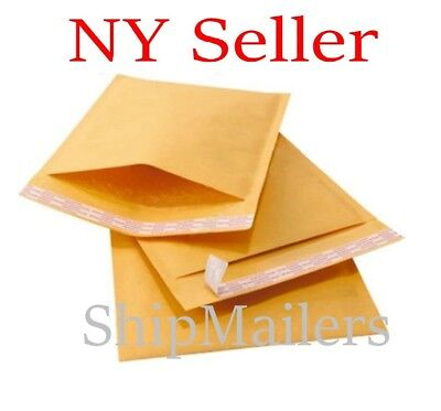 Kraft Bubble Padded Envelopes Shipping Mailers 000 00 0 Cd 1 2
