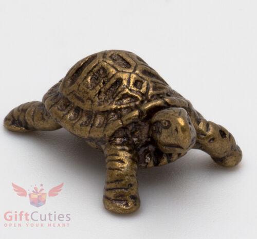 Solid Brass Figurine of Tortoise Turtle talisman Totem IronWork