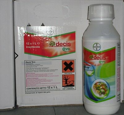 BAYER DECIS AGES FROM 1 LITER INSECTICIDE APHICIDAL LOW SHORTAGE DELTAMETHRIN