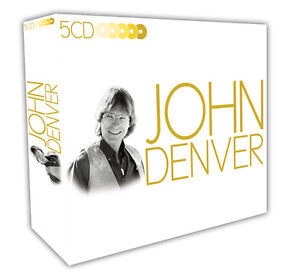 5-CD-BOX-JOHN-DENVER-ANNIES-SONG-TAKE-ME-HOME-COUNTRY-ROADS-CALYPSO-ROCKY-MOUNT