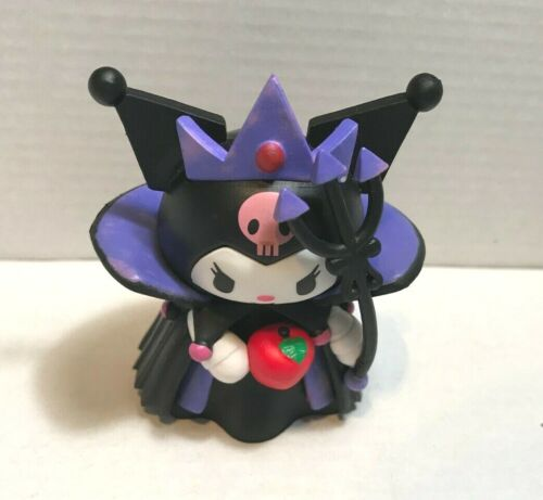 Hello Kitty Sanrio 40th Anniversary Japan 7-11 Kuromi Witch Rare Figure