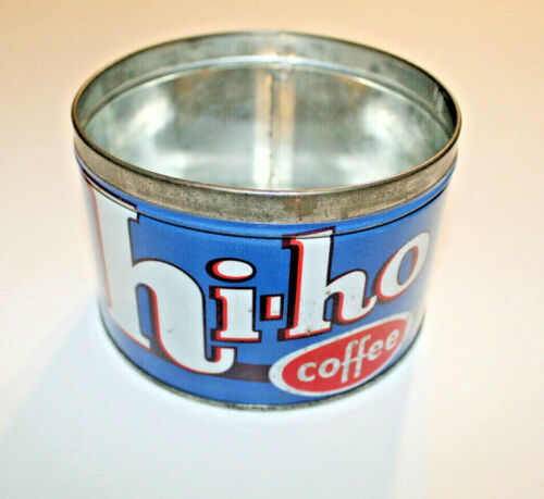 Vintage HI-HO 1 Pound Coffee Can Tin