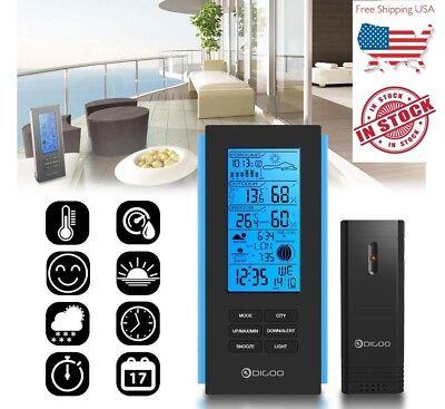 Digoo DG-TH6699 Wireless Weather Station Barometer Thermometer - Outdoor Sensor