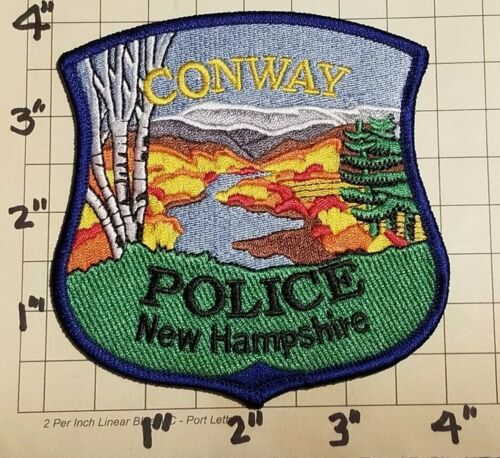 Conway (NH) Police Department Patch      ***NEW***