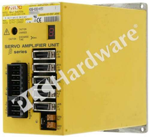GE Fanuc A06B-6093-H151 /I Servo Amplifier Unit SVU-12 240V AC 5.1A 1-P 3.2A 3-P