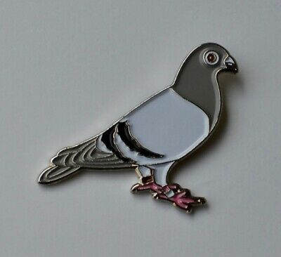 Pigeon Racing Pigeon Quality Enamel Pin Badge