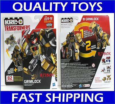 KRE-O Transformers Kreon Battle Changers Grimlock #B0718 82 Pcs Kreo Rare New