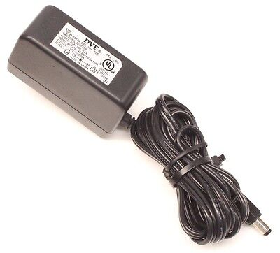 Dve Power Supply - DVE DSA-009-12 AC DC Power Supply Adapter Charger Output 12V 0.75A