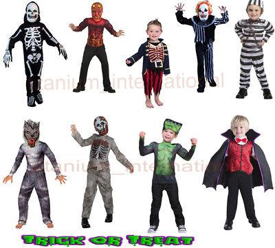 Boys Halloween KidsCostume Devil,Zombie,Clown,Frankenmonster,Little Prisoner](Little Boy Zombie)
