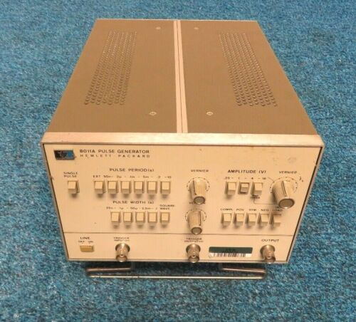 Hewlett packard HP 8011A PULSE GENERATOR