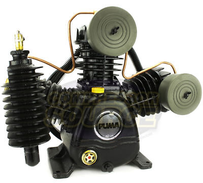 Puma 3 Cylinder 2 Two Stage Cast Iron Air Compressor Pump 15 Scfm New