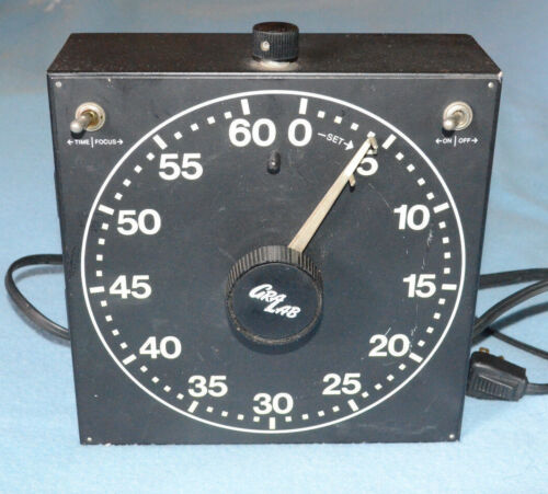 Gralab Model 400  Darkroom Timer - Tested - 60 Seconds Repeating