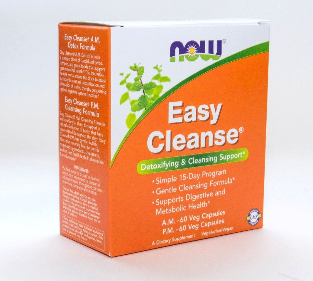NOW Foods Easy Cleanse -- 120 Vcaps