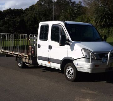 2010 IVECO Daily 50C18 Dual Cab 3.0 Turbo Diesel 7 Seat Truck Annandale Leichhardt Area Preview