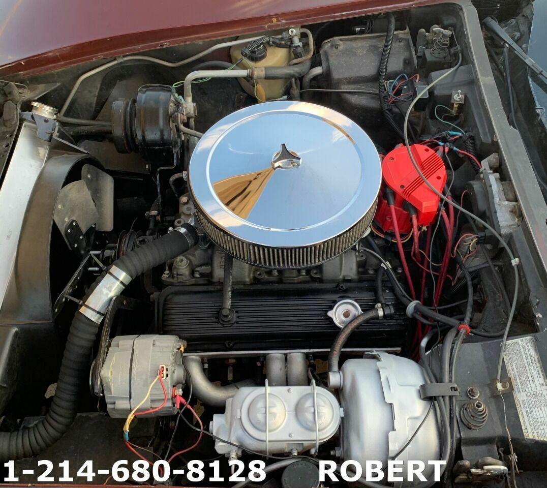 1978 Burgundy Chevrolet Corvette   | C3 Corvette Photo 7