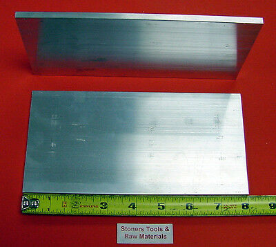 2 Pieces 14 X 4 Aluminum 6061 Flat Bar 8 Long .250 Plate New Mill Stock