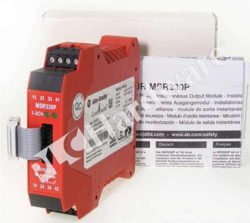 New Allen Bradley 440R-W23223 /A MSR330P Safety Output Expansion 3 N.O. Qty