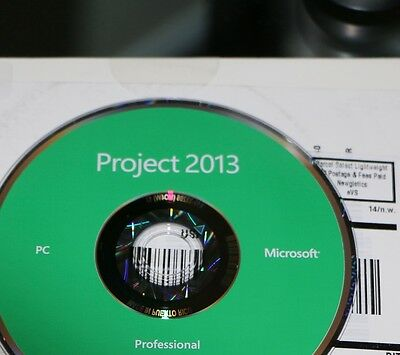Microsoft Project Professional 2013   Brand New  32 Bit And 64 Bit