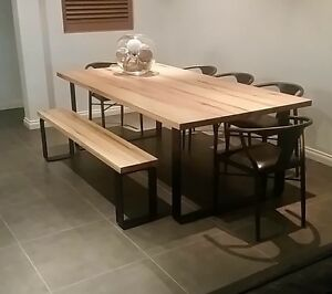 PLATINUM DINING SET-KING DINING TABLE+BENCH SEATS Sandringham Bayside Area Preview