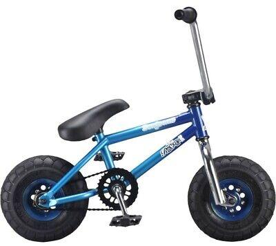 Rocker Irok Seafoam Mini BMX Bike Rare Custom Blue Chrome Free UK Delivery
