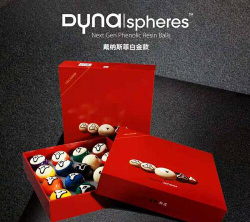 Dynasphere Next Gen Phenolic Resin Billiard Balls Set-PALLADIUM