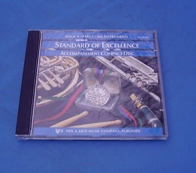 Standard of Excellence Book 2 Part 1 Accompaniment CD 1995 Neil A. Kjos Music