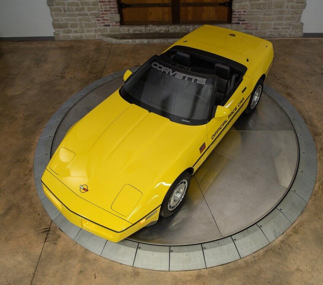 1986 Yellow Chevrolet Corvette   | C4 Corvette Photo 10